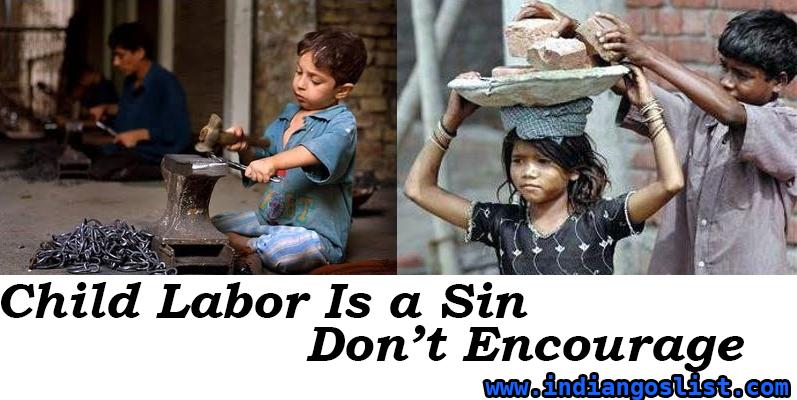 Ngos working for eradicating Child Labour