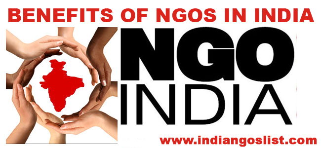 Benefits ngos in India
